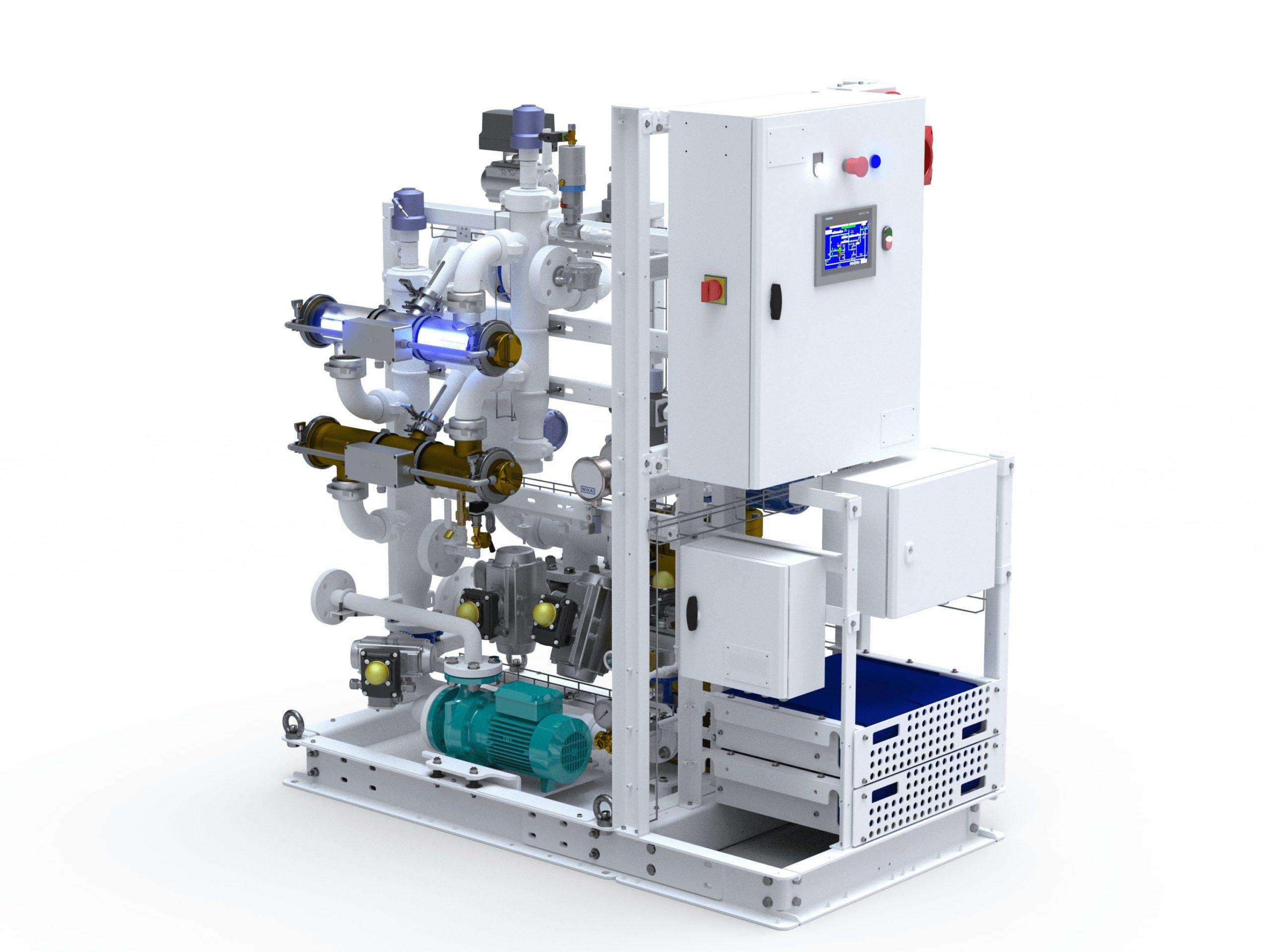 ECOSISTEMA E BALLAST WATER TREATMENT SYSTEM