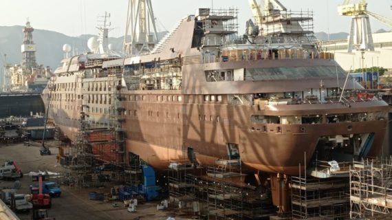 The Lengthening process is a challenging approach to adding vessel capacity!
