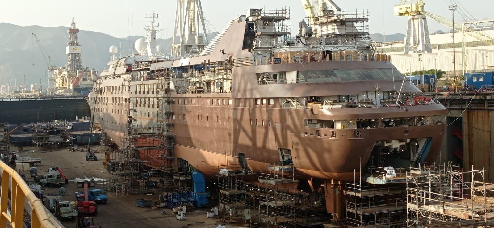 Allungamento nave – progetti complessi ma di grande soddisfazione e risultato!